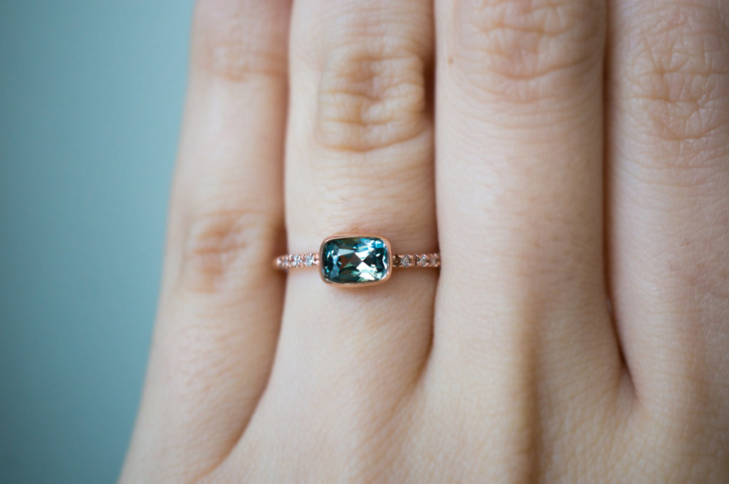 reserved eidelprecious sapphire pin blue peacock green engagement rings by ring payment down