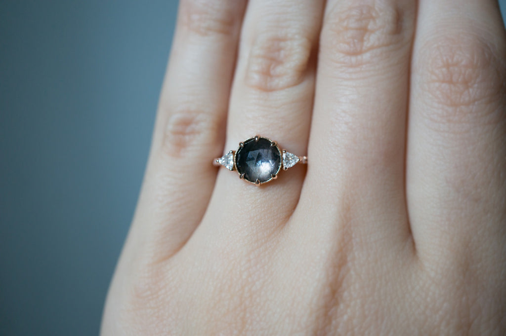 one a products alexis sapphire of engagement natural cluster diamond with ring kind sunburst grey