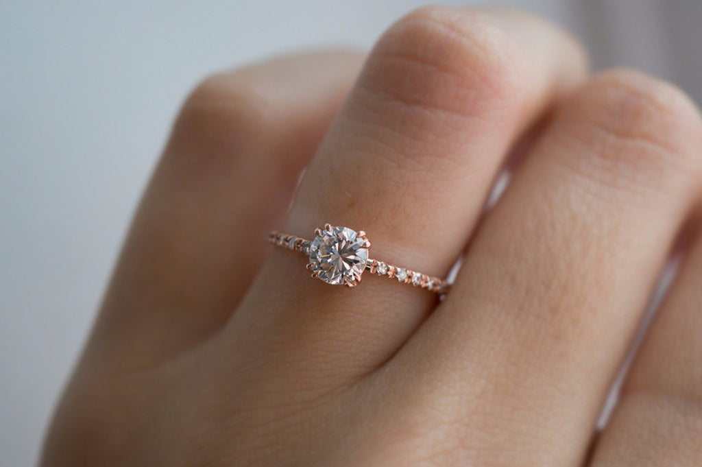 of rings setting gold ring products engagement diamond rose carat halo hannah copy