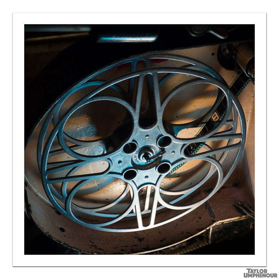Take-Up Reel, Night Blue (Square Print) from Taylor Umphenour's The Cue Dot
