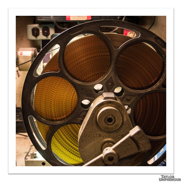 Celluloid Film Reel (Square Print) from Taylor Umphenour's The Cue Dot