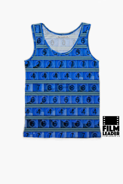 Tank Top with Process Blue 15/70mm Countdown