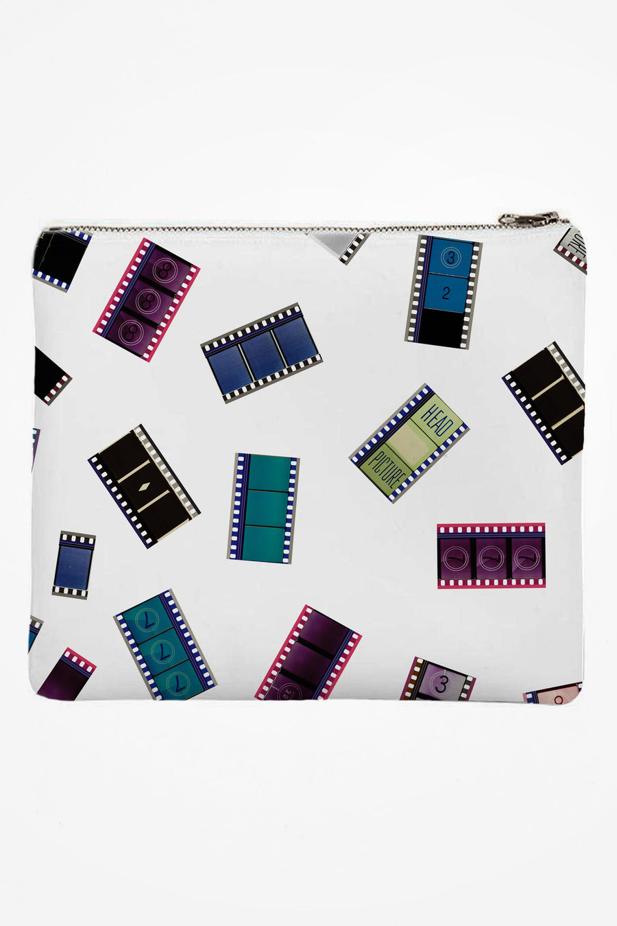 Neoprene Clutch with 35mm Cinema Confetti #1 (Original)