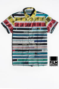 Short Sleeve Button Down Shirt with Cinemastripe #1 (Original)