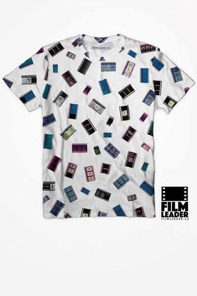 Crew Neck T Shirt with 35mm Cinema Confetti #1