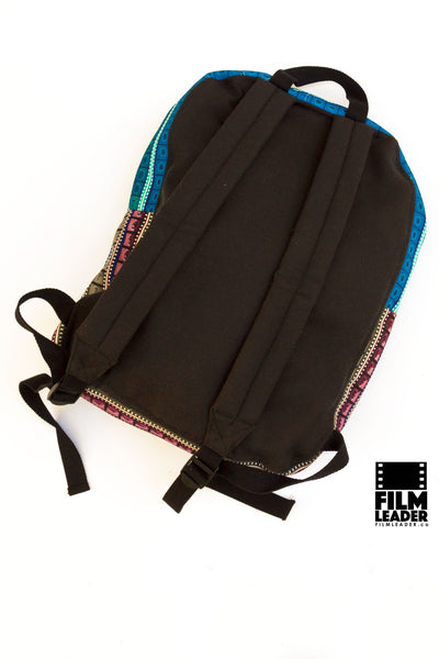 Backpack with Vertical Multicolored 35mm Countdowns (Tight Stripe)