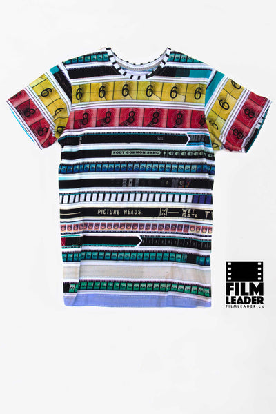 Crew Neck T Shirt with CinemaStripe #1 (The Original)