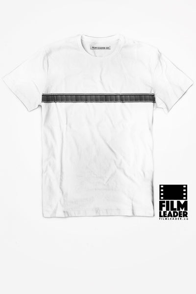 Crew Neck T Shirt with 35mm Single Stripe #1 (Horizontal)