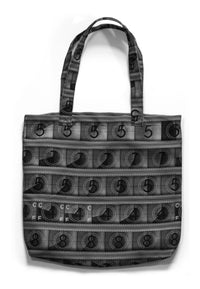 Canvas Tote with B&W IMAX 15/70mm Countdown Solid