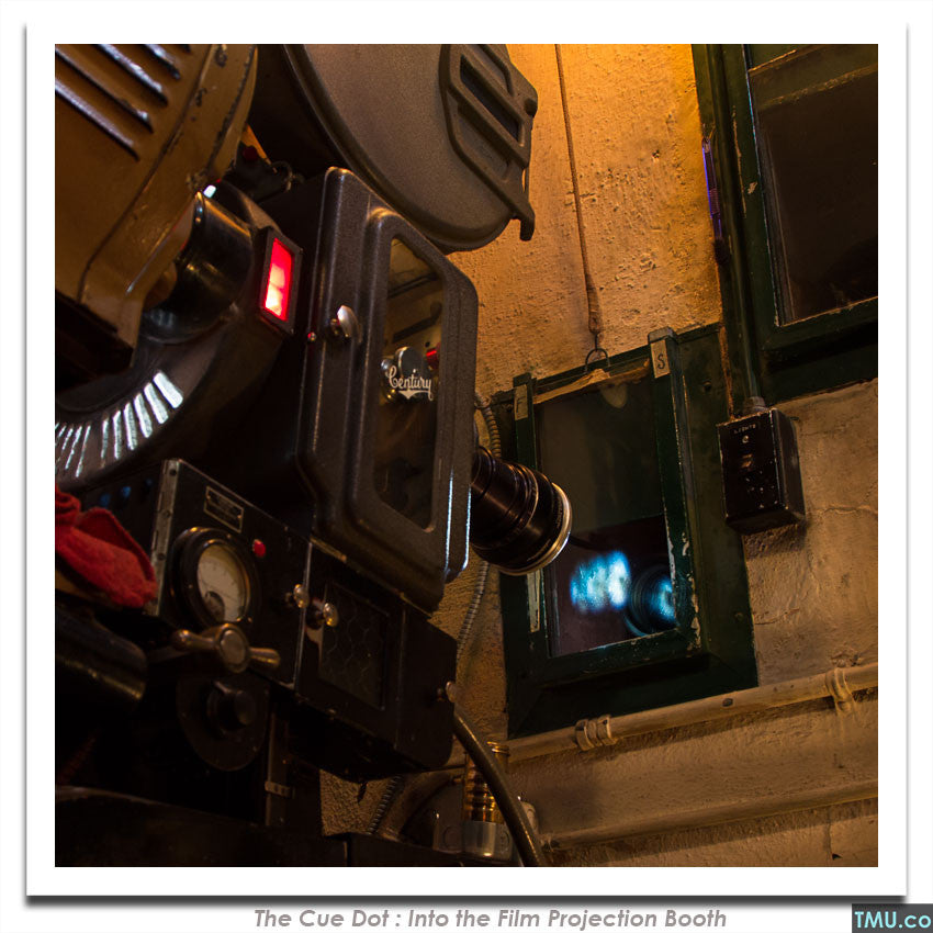 "#05 - Film Projector - 8x8"" (Signed)"