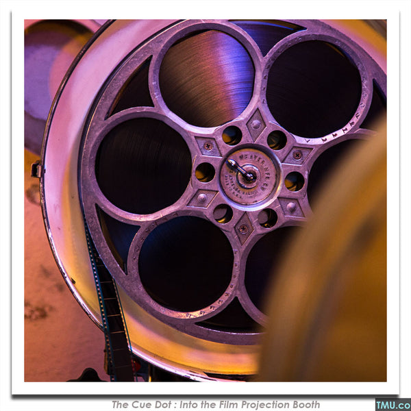"#12 - Reel of 35mm Film (Purple) - 8x8"" (Signed)"