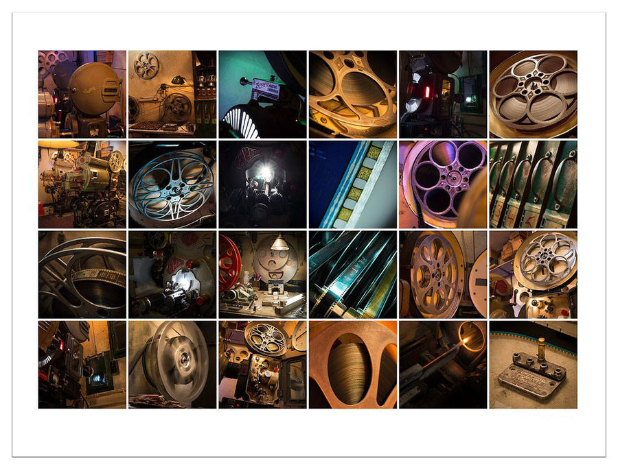The Cue Dot • Contact Sheet Style Giclée Print • Set #2