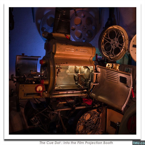 "#26 - The Carbon Arc Film Projector - 8x8"" (Signed)"