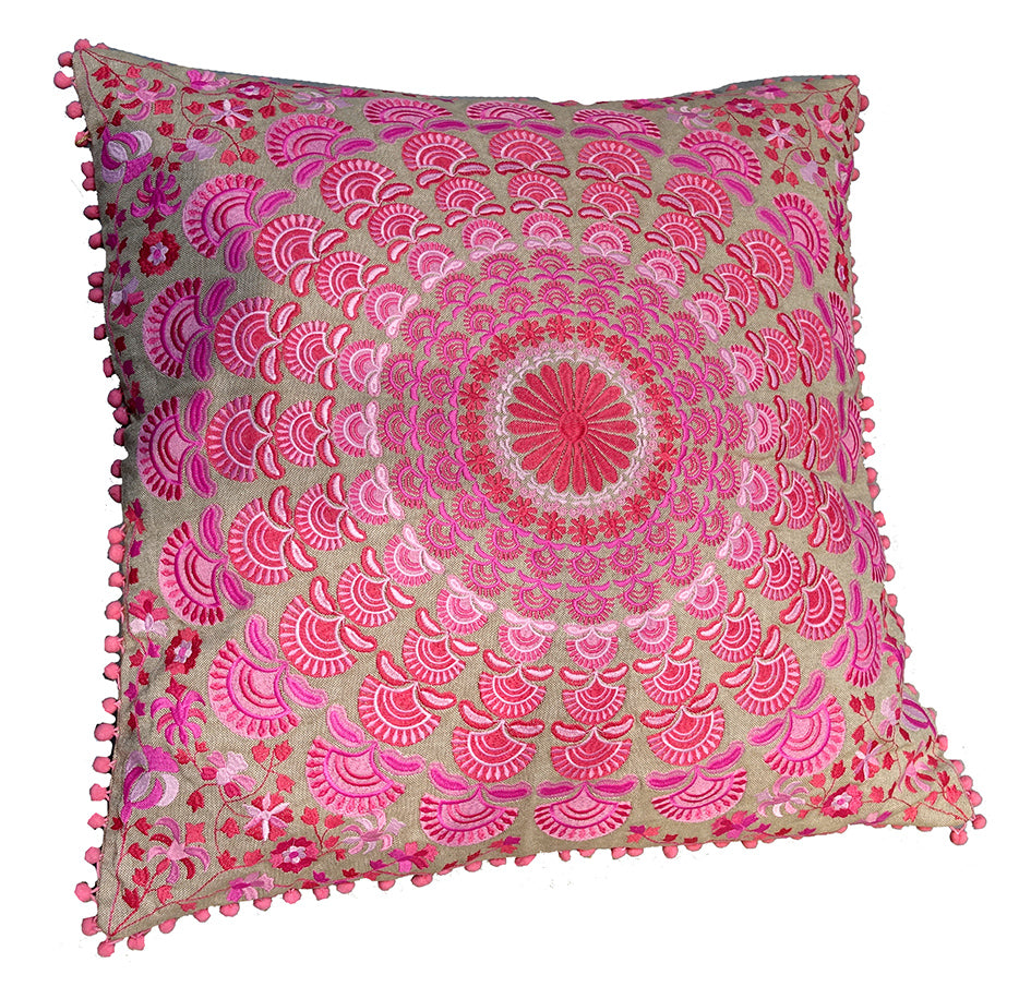 Mandala collection: Large square cushion//Mandala collection: grand coussin carré