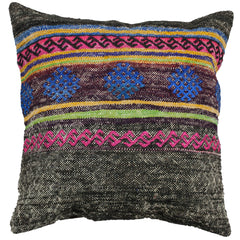 "[[Turkish kilim cushion 24"" x 24""///Coussins kilim turques : 24"" x 24""]]"
