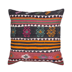 "[[Turkish kilim cushion 28"" x 28""///Coussins kilim turques : 28"" x 28""]]"