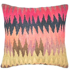 "[[Turkish kilim cushion 20"" x 20""///Coussins kilim turques : 20"" x 20""]]"
