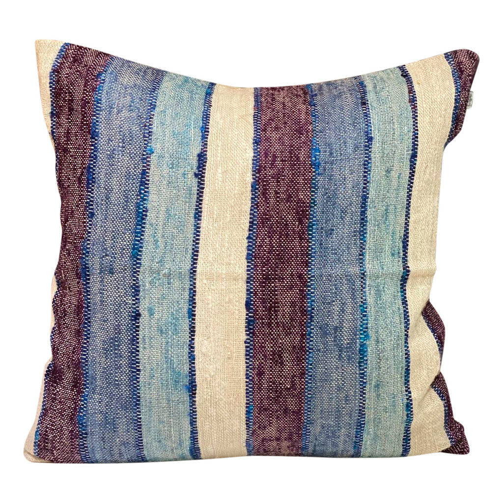 "[[Square cushion: ""blueberry""///Coussin carré : ""blueberry""]]"