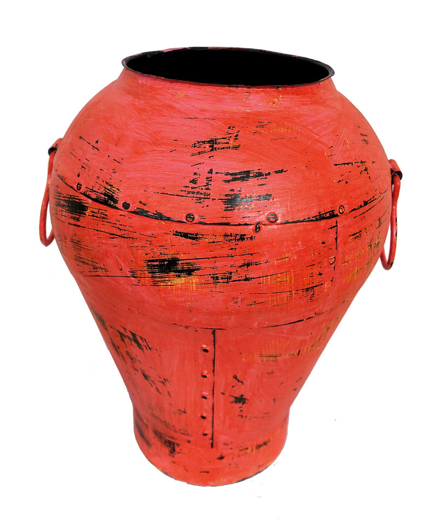 Colourful Iron Pot//Pot en Fer Coloré
