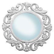 Antique White Mirror//Miroir blanc antique