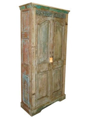 Indian Vintage Armoire//Armoire indienne vintage