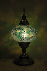 Mosaic Colourful Table Lamp//Lampe de Table Colorée Mosaïque