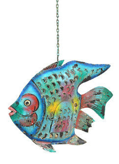 Decorative Iron Fish// Poisson en Fer Décoratif