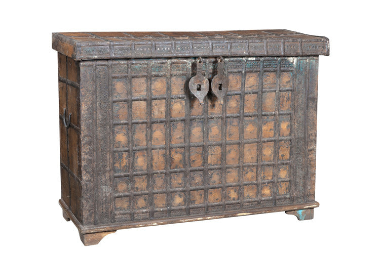 Rustic Vintage Chest // Coffret Vintage Rustique