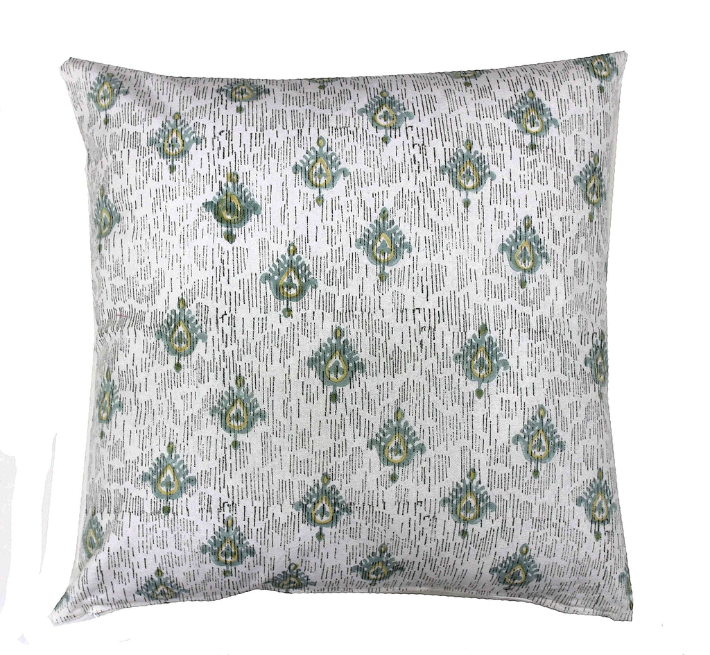 Marrakech: Hand block printed cushion