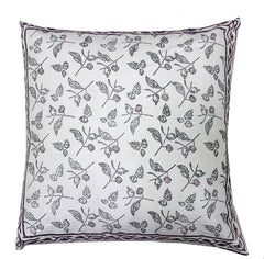 Lucknow: Hand block printed cushion