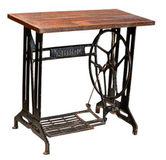 Industrial Sidetable//Table d'appoint industrielle