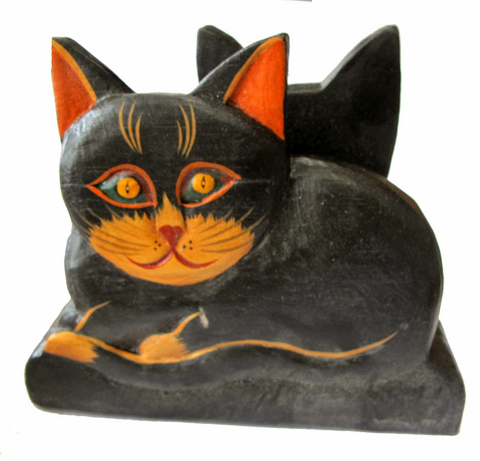 Napkin Holder Cat//Porte-Serviette en Forme de Chat