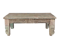 Pastel beige coffee table//Table basse beige pastel