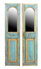 Jodhpur blue: Tall and narrow mirror frame//Jodhpur bleu: Miroir long et étroit