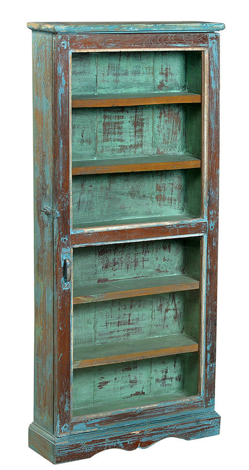 Wonders of the past: Turquoise pharmacy cabinet//Merveilles du passé: Pharmacie turquoise