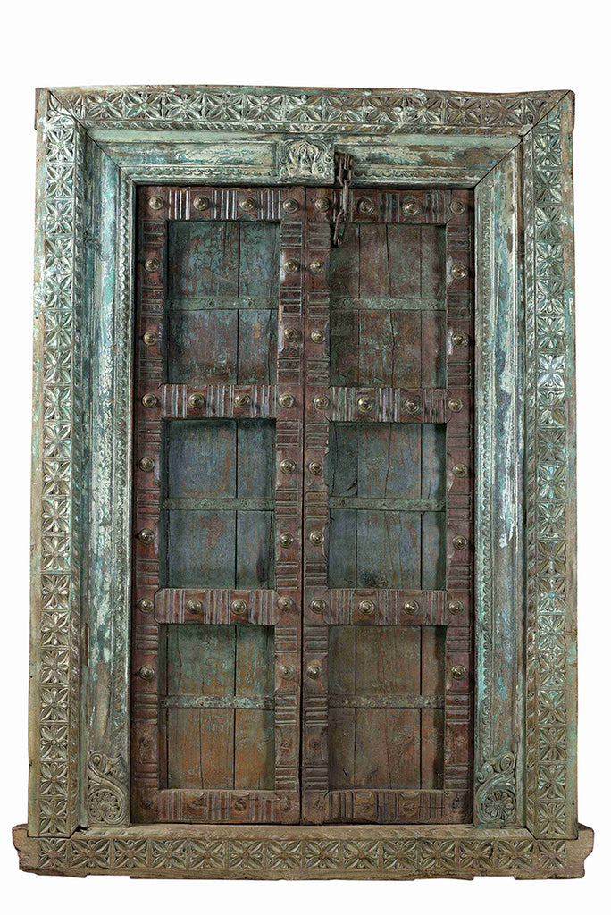 Rajasthani vintage door//Ancienne Porte Indienne
