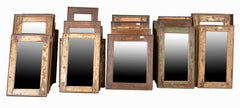 Rectangular Vintage Mirror//Miroirs Rectangulaires Vintages