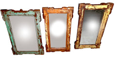 Colorful Vintage Mirrors//Miroirs vintages colorés