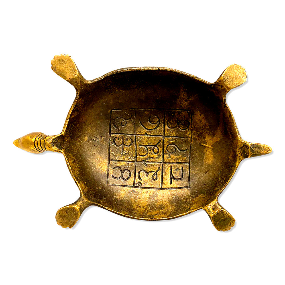 [[Old brass wish turtle///Ancienne tortue à souhaits en laiton]]
