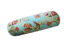 Kantha Tube Cushion//Coussin en Tube Kantha