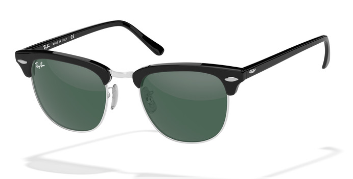 843ee9a57ac ... where to buy ray ban clubmaster silver black 9be8e fa169 ...