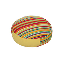 OOAKForHome Pet Bed Set Rainbow (Diameter 23.62in x H 5.12in) - One of a Kind for Home