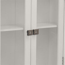 Argo Wall Cabinet w/ 2 Doors include OOAK <strong>Asscher</strong> Door Knobs. - One of a Kind for Home
