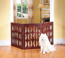 OOAKforHOME St. Augustine Pet Gate/Room Divider 3 panels (M) - One of a Kind for Home