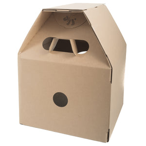 OOAKForHome Cardboard Cat Milk Box Tower (cat house): 100% recyclable materials - One of a Kind for Home