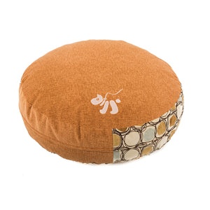 OOAKForHome Pet Bed Set Maple Syrup (Diameter 23.62in x H 5.12in) - One of a Kind for Home