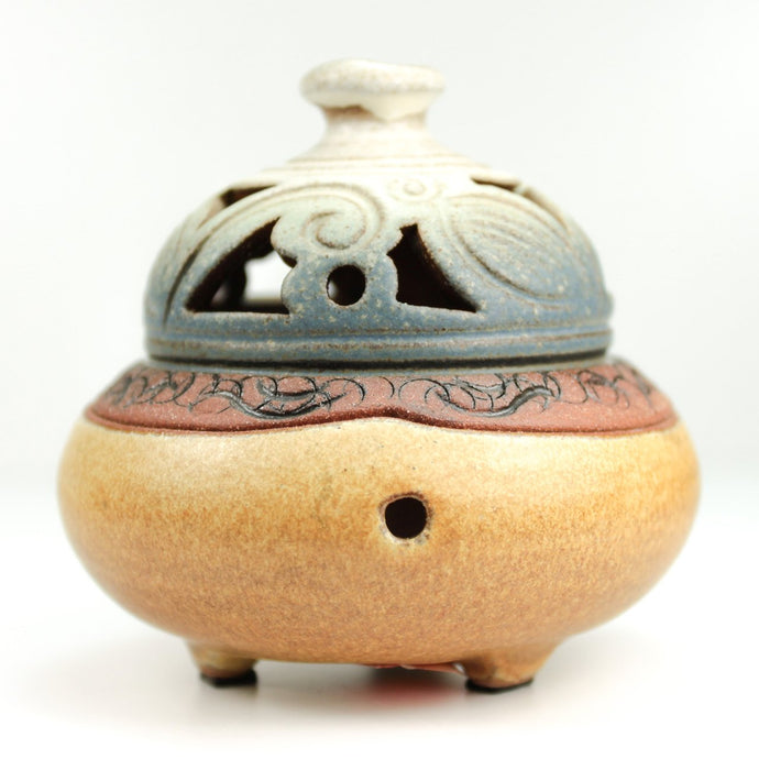 OOAKForHome Traditional Chinese Incense Burner Holder - One of a Kind for Home