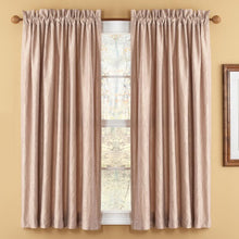 "<b>OOAK</b> Window Rod and Panel - Mocha 63"" - One of a Kind for Home"