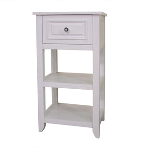 Carson Floor Cabinet With One Drawer and Shelves - One of a Kind for Home