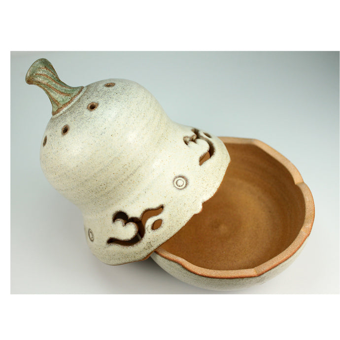 OOAKForHome Pear-shaped Incense Burner - One of a Kind for Home